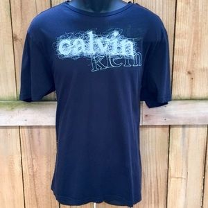 Calvin Klein Graphic Short Sleeve Crewneck Tee GUC